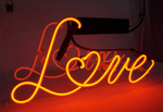 Love Heart Shape Neon Sign