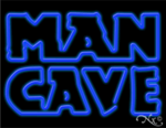 Man Cave Business Neon Sign