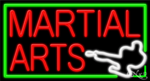 Martial Arts Business Neon Sign