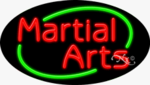Martial Arts Oval Neon Sign