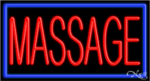Massage Business Neon Sign