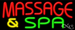Massage & Spa Business Neon Sign