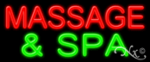 Massage & Spa Economic Neon Sign