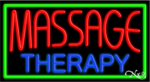 Massage Therapy Business Neon Sign
