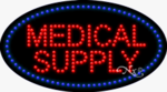 Medical Supply LED Sign