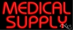Medical Supply Neon Sign
