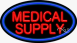 Medical Supply Oval Neon Sign