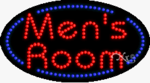Men's Room LED Sign