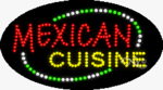 Mexican Cuisine LED Sign