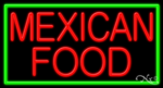 Mexican Food Business Neon Sign