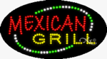 Mexican Grill LED Sign