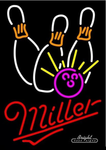 Miller Bowling Neon Sign