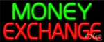 Money Exchange Business Neon Sign