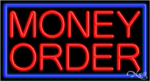 Money Order Business Neon Sign