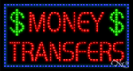 Money Transfers LED Sign