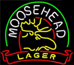 Moose Head Lager Neon Sign