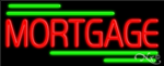 Mortgage Business Neon Sign