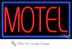 Motel  Business Neon Sign
