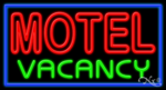 Motel Vacancy Business Neon Sign
