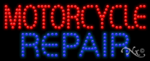 Motorcycle Repair LED Sign