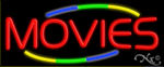 Movies Business Neon Sign
