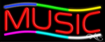 Music Business Neon Sign