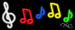 Music Logo Business Neon Sign