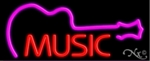 Musical Neon Sign