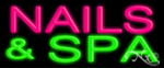 Nails & Spa Economic Neon Sign
