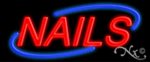 Nails3 Economic Neon Sign