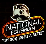 National Bohemian Beer Neon Sign