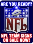 Neon NFL Logo Signs
