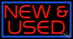 New & Used Business Neon Sign