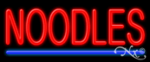 Noodles Economic Neon Sign