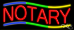Notary Business Neon Sign