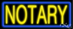 Notary Neon Sign