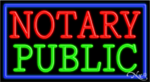 Notary Public Business Neon Sign