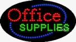 Office Supplies LED Sign