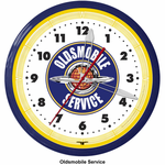 "Oldsmobile 20"" Neon Clock"