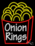Onion Rings LED Sign