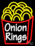 Onion Rings Business Neon Sign