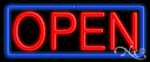 Open Economic Neon Sign