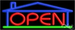 Open House Neon Sign