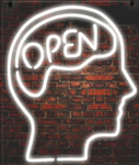 Open Mind Neon Sign