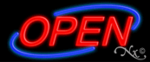 Open2 Economic Neon Sign