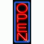 Open7 Economic Neon Sign