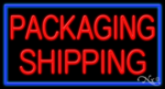Packaging Shipping Business Neon Sign