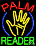 Palm Reader Business Neon Sign