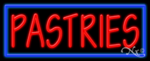 Pastries Business Neon Sign
