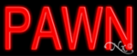 Pawn Economic Neon Sign